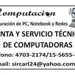 Venta y servicio técnico de computadoras