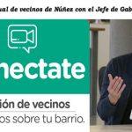 Reunión virtual de vecinos de Núñez con el Jefe de Gabinete Porteño