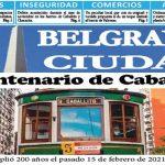 Mi Belgrano Ciudad Febrero de 2021