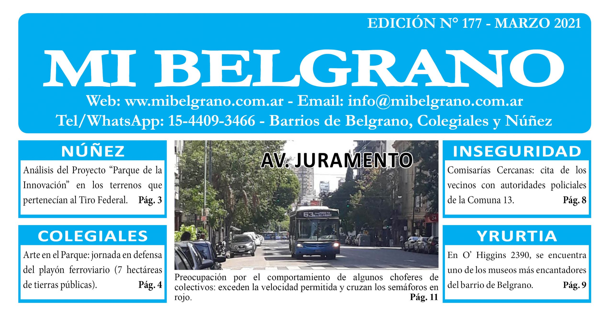 Diario Mi Belgrano Marzo