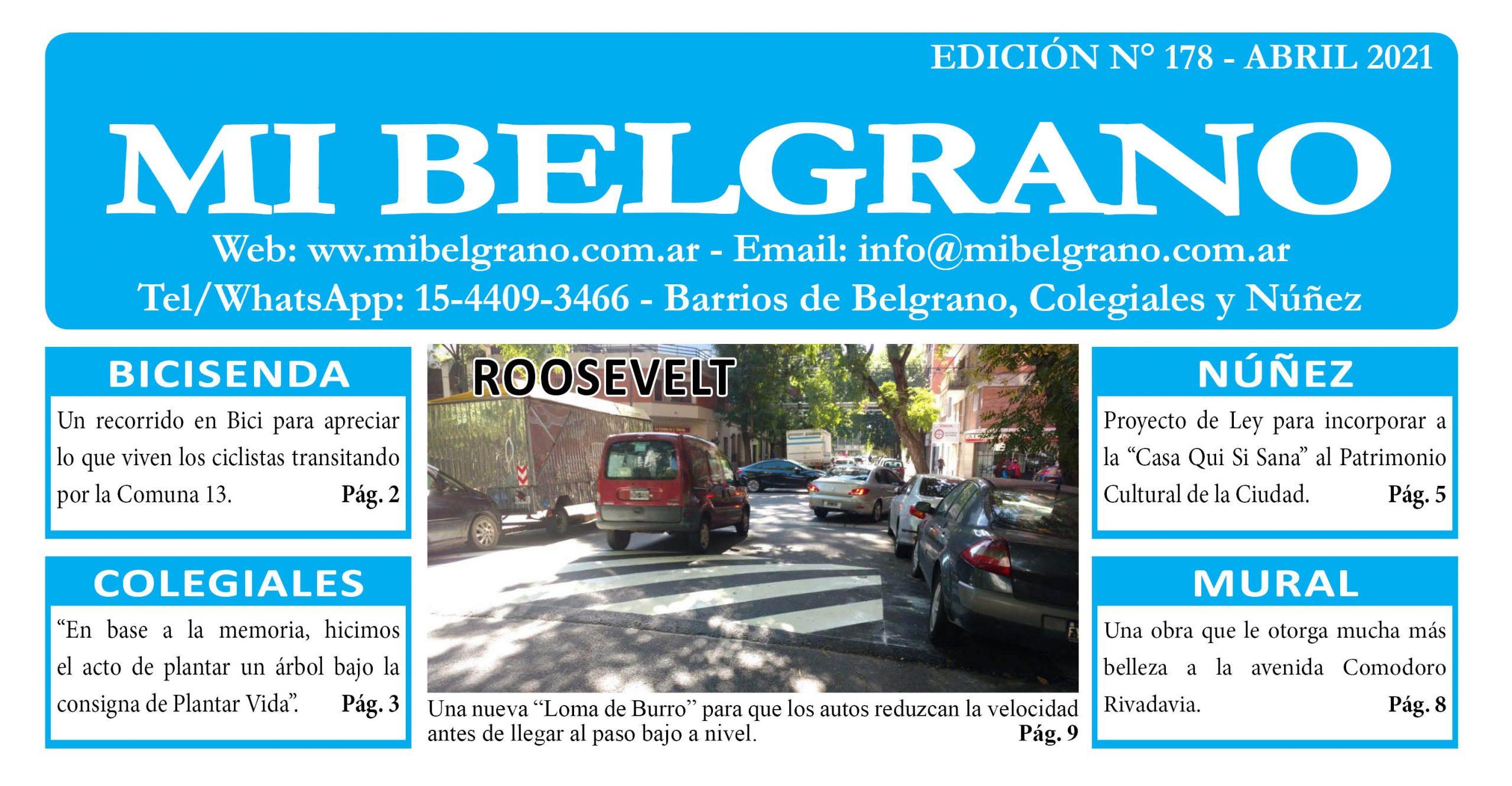 Diario Mi Belgrano Abril