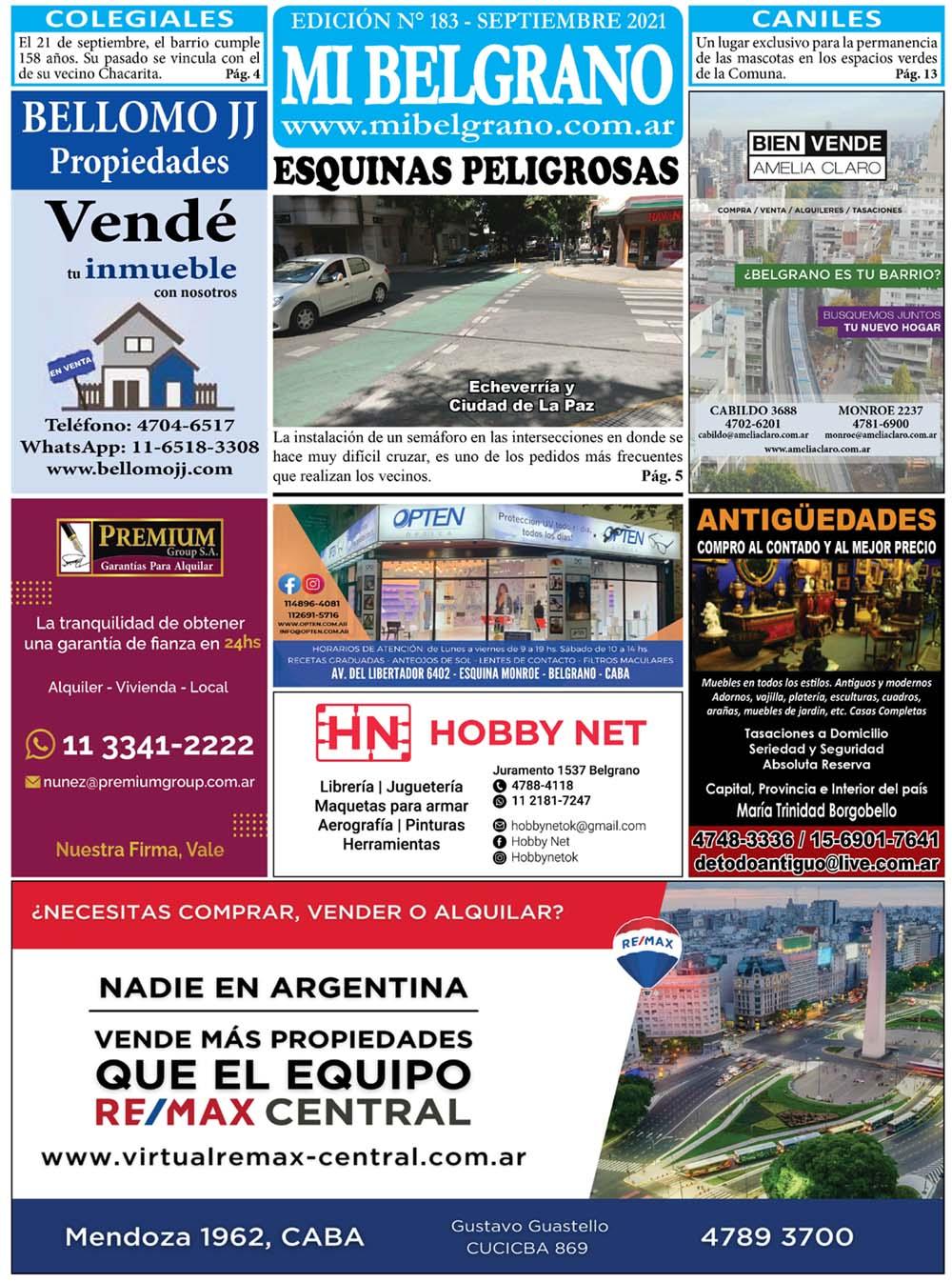 Diario Mi Belgrano Septiembre